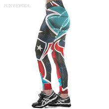 Women Fitness Colorful Stars 3D Printed Leggings