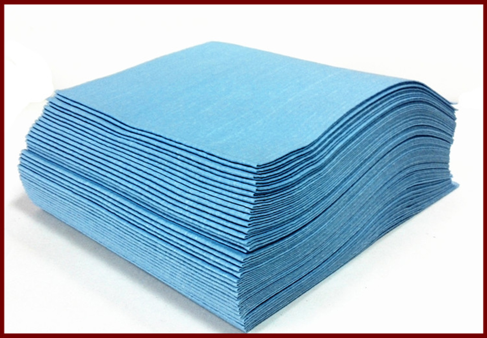 Image 3 - 300Pcs/box Good Quality 35*30cm Lint Free Cloth Wipe Jet Spun Cloth Super Prep Towel QB 01-in Paint Cleaner from Automobiles & Motorcycles