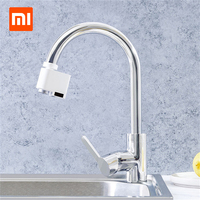 2019 Xiaomi Smart Sensor Faucet Infrared Sensor Automatic Water Saver Tap Anti overflow Kitchen Bathroom Inductive Faucet