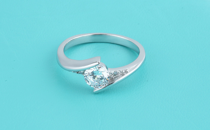 Cute Female Small Zircon Stone Ring 925 Silver Wedding Jewelry Promise Engagement Rings For Women 19 Valentine's Day Gifts 3