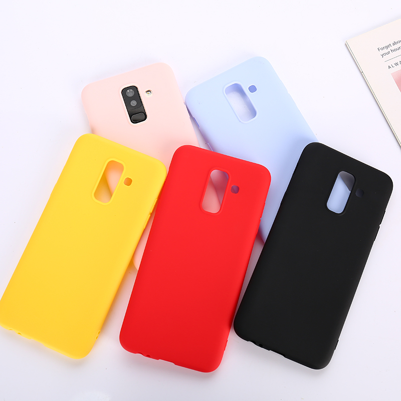 Fashion Soft Case For Samsung Galaxy S7 Edge S8 S9 S10 Plus S10e J4 J6 A8 A6 Plus A7 A9 2018 J3 J5 J7 2017 J2 J4 Core M10 M20