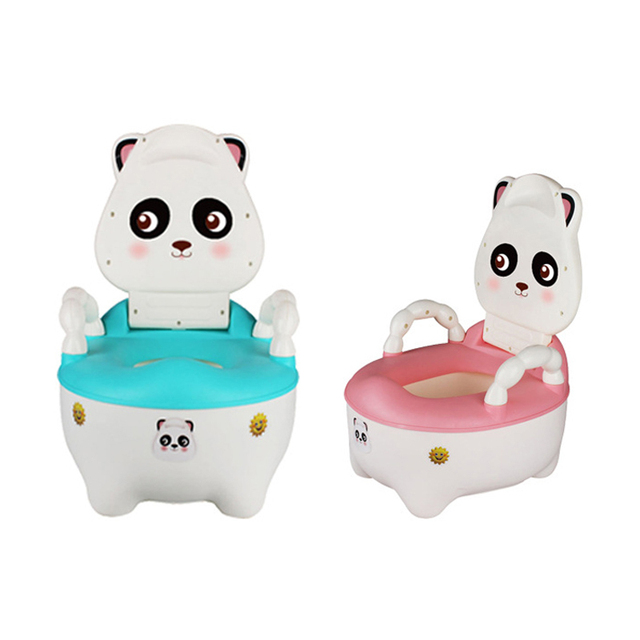 childrens potty chairs chair pad covers baby portable raccoon cartoon toilet seat car kids child girls boy trainer children s