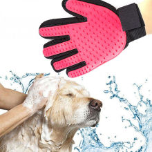 Pet Soft Silicone Dog Cat Brush Glove Cleaning Gentle Efficient Grooming Bath Supplies Combs New