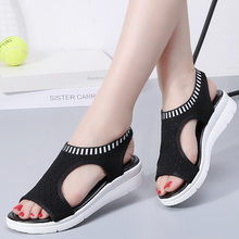 Women Sandals Peep Toe Wedges Shoes For Women Summer