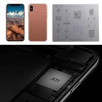 Metal 3D IC Chip BGA Reballing Solder Template Stencil Tin Plate Reapir Tool for iPhone 6S/7Plus A8 A9 A10 A11 Stencil Tin Plate