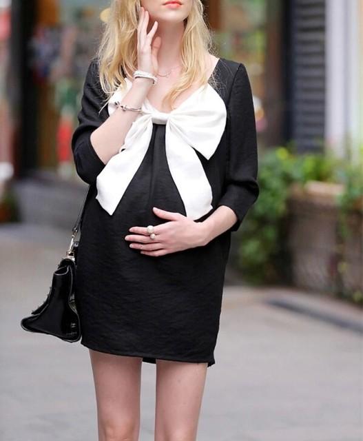 Novos vestidos de maternidade roupa de maternidade grávida mulheres ropa embarazada arco vetement grossesse blusas gestante gravidez