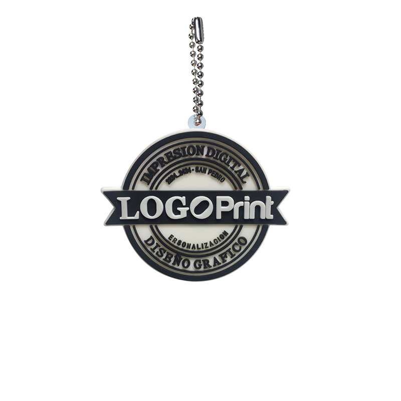 Image 3 - Personalized Customization PVC Ball Chain Key chains Your Own Design Business Logo Custom Design Metal Ball chain for wholesale-in Key Chains from Jewelry & Accessories