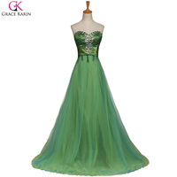 Emerald Green Summer Long Dress Plus Size Beading Evening Dresses Cheap Prom Gown Sleeveless Women Vestidos