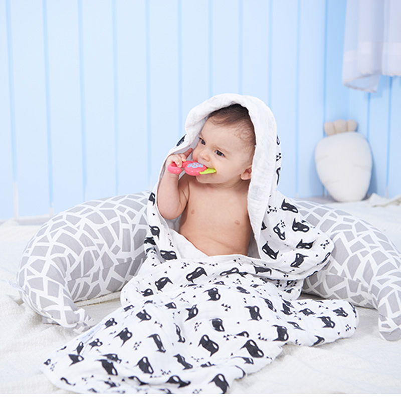 Free Shipping 100% Cotton Muslin Baby Swaddle Blanket Muslin Square Baby Warp Nursing Co ...