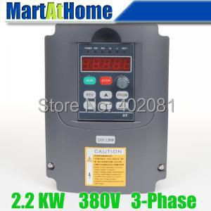 New 2.2kw 3HP 380V 6A Usual VFD Inverter Variable Frequency Drive Inverter for Spindle Motor #SM659 @SD