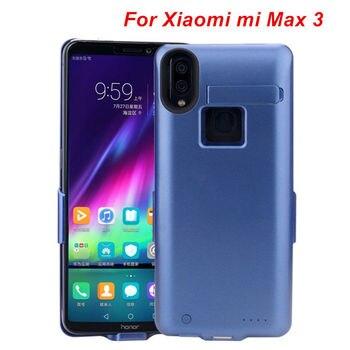 10000 mah para Xiaomi Max 3 batería funda teléfono inteligente soporte batería cubierta banco de potencia inteligente para Xiaomi Max 3 cargador funda