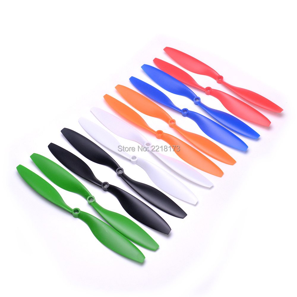 4pair 1045 1045R 10x4.5 Props CW CCW Propeller support 2212 920kv motor For F450 S500 X500 Multicopter Quadcopter(China)
