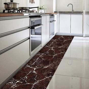 3 colores patrones de mármol DIY a prueba de agua antiarañazos pared suelo  pegatinas para decoración del hogar cocina dormitorio 00ba163d5e7