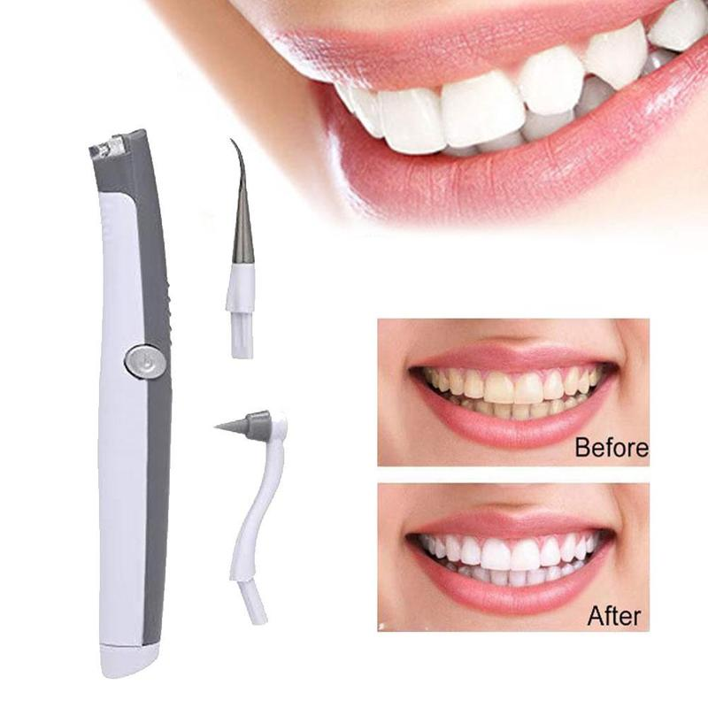 Electric Ultrasonic Tooth Stain Eraser Plaque Remover Dental Tool Teeth Whitening Dental Cleaning Scaler Tooth Odontologia Tool(China)