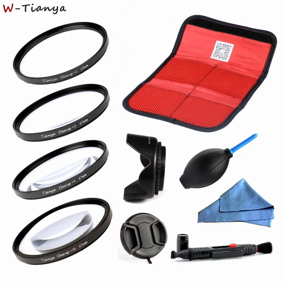 72 62 67 58 52mm mm mm mm mm mm Macro Close Up Filtro Lens Kit + 1 77 + 2 + 4 + 10 para CANON para NIKON