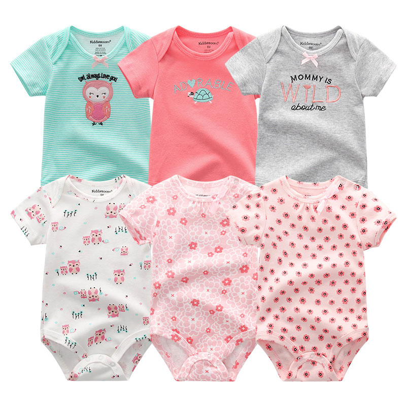 ae55d2d8c65b7 New Born Baby Clothes Cotton Baby Girl Clothes Summer Infant Girl Clothing  Jumpsuits Kids Costumes Newborn Baby Rompers