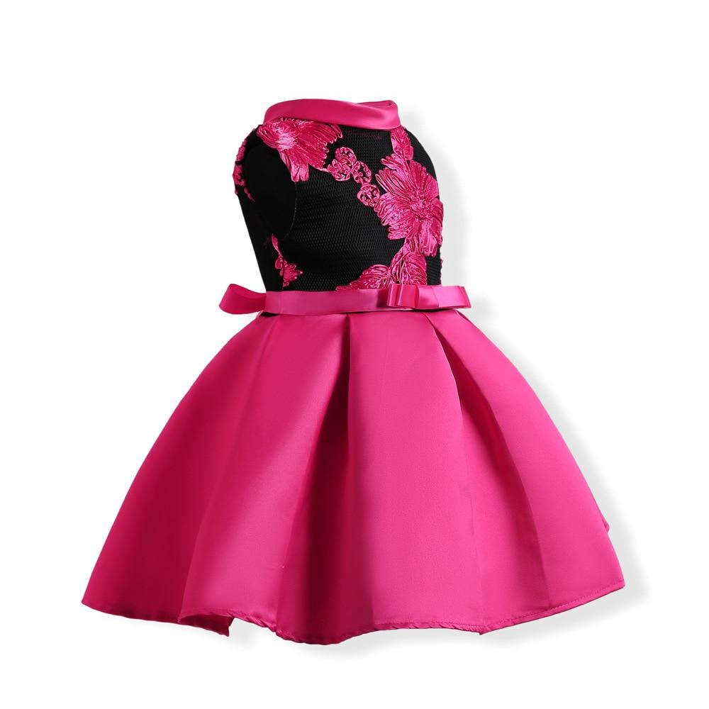 Nueva elegante niñas princesa vestido niños vestidos de fiesta para ...