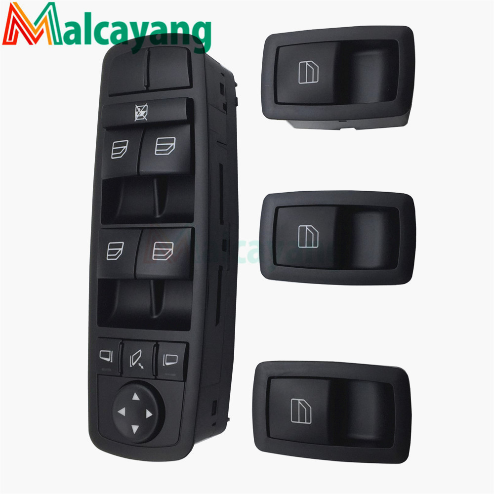 2518300290 A2518300290 High Quality For Mercedes ML GL R Class Power Window Lifter Switch Button A2518200510/2518200510 free shipping for kia sportage door window switch with side mirror switch window lifter switch