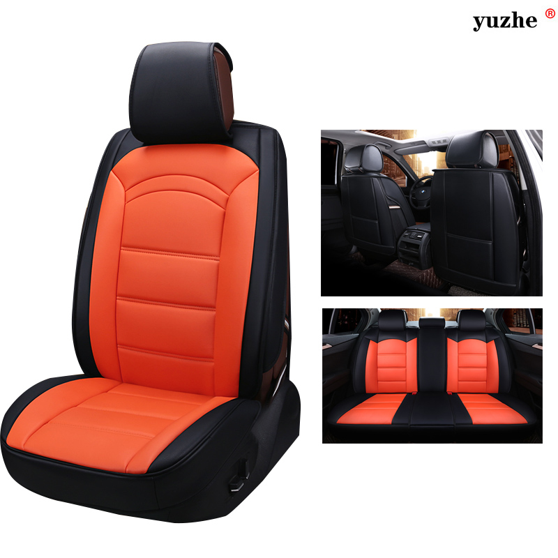 Leather Universal car seat covers For Land Rover Discovery Sport freelander Range Sport Evoque Defender accessories cushion