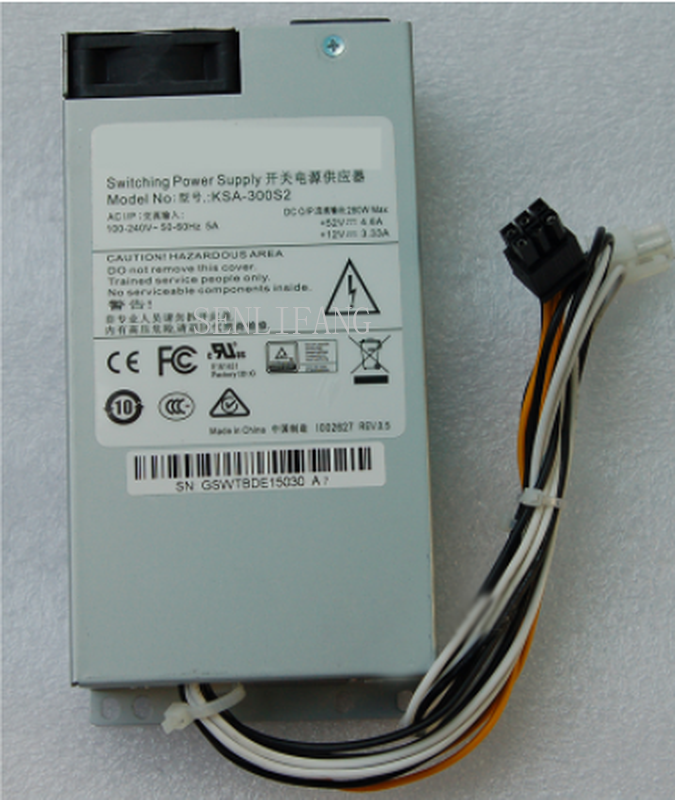 Free Shipping KSA-300S2 Power Supply 280W For HIKVISION POE Hard Disk Recorder
