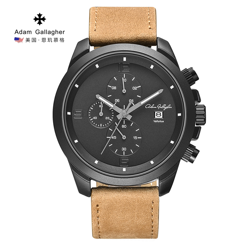 Adam Gallagher Men's Watch Quartz Wrist Watch Waterproof Sport Watch