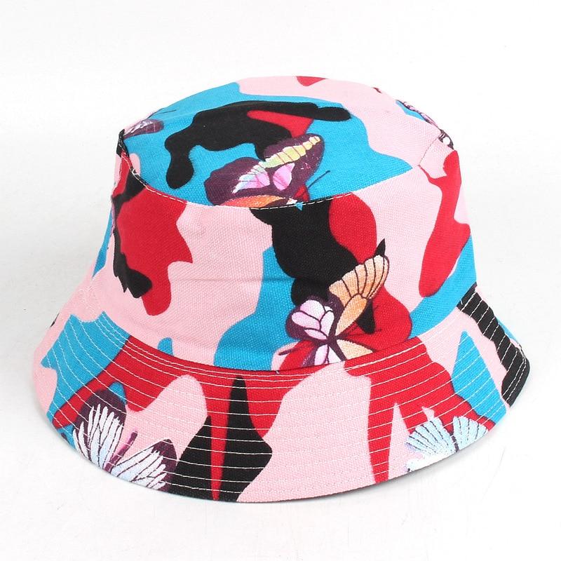 22 Entwürfe blühen Eimer-Hut für Frauenart und weise Sommer-im - Bekleidungszubehör - Foto 4