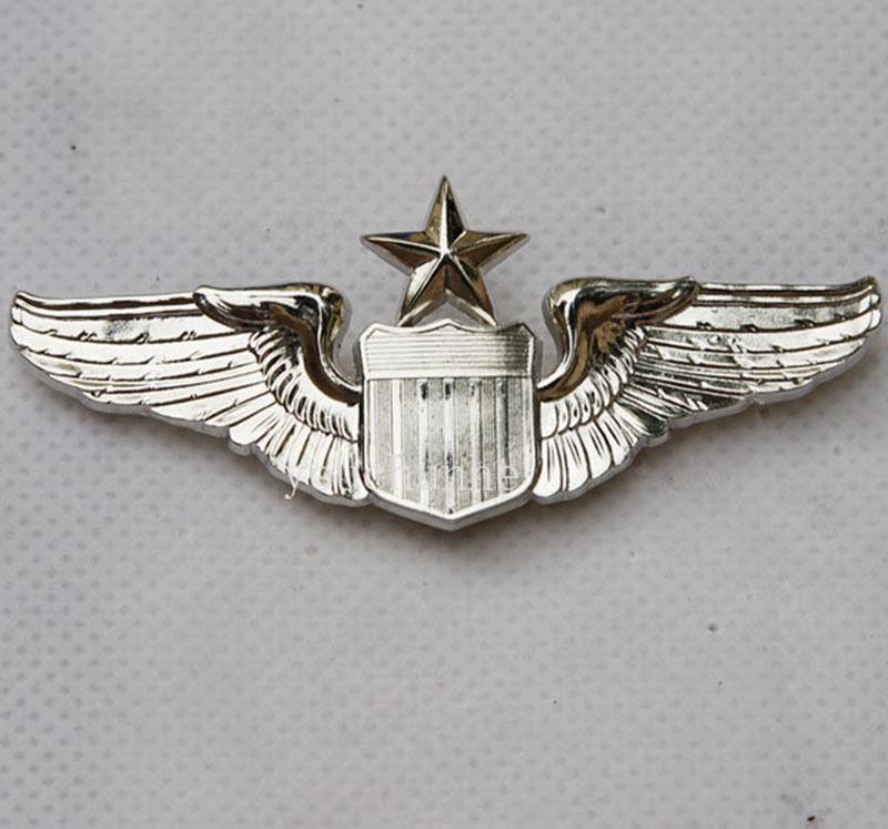US $8.89 11% OFF USAF US Air Force Senior Pilot Metallflügel Abzeichen Insignia US204 in Sportsouvenirs aus Sport und Unterhaltung bei AliExpress