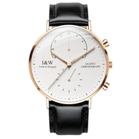 Luxury Brand Carnival Watch Men Japan Quartz Men Watches Luminous Watch Male Multiple Time Zone Military reloj hombre C8787G 6