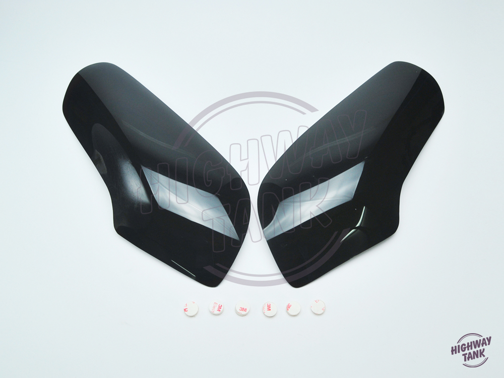 New Motorcycle smoke Headlight Lens Cover Shield case for Honda GL 1800 GL1800 Goldwing 2001-2009 black blue clear Free shipping
