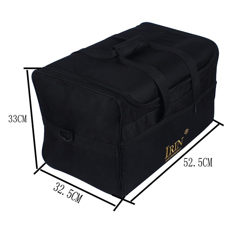 ABDB-IRIN Standard Adult Cajon Box Drum Bag Backpack Case 600D Cloth 5MM Cotton Padding With Carry Handle Shoulder Strap