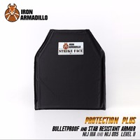 AA Shield Bullet Proof Stab Proof Soft Body Armor Plate Aramid Core NIJ Lvl IIIA 3A