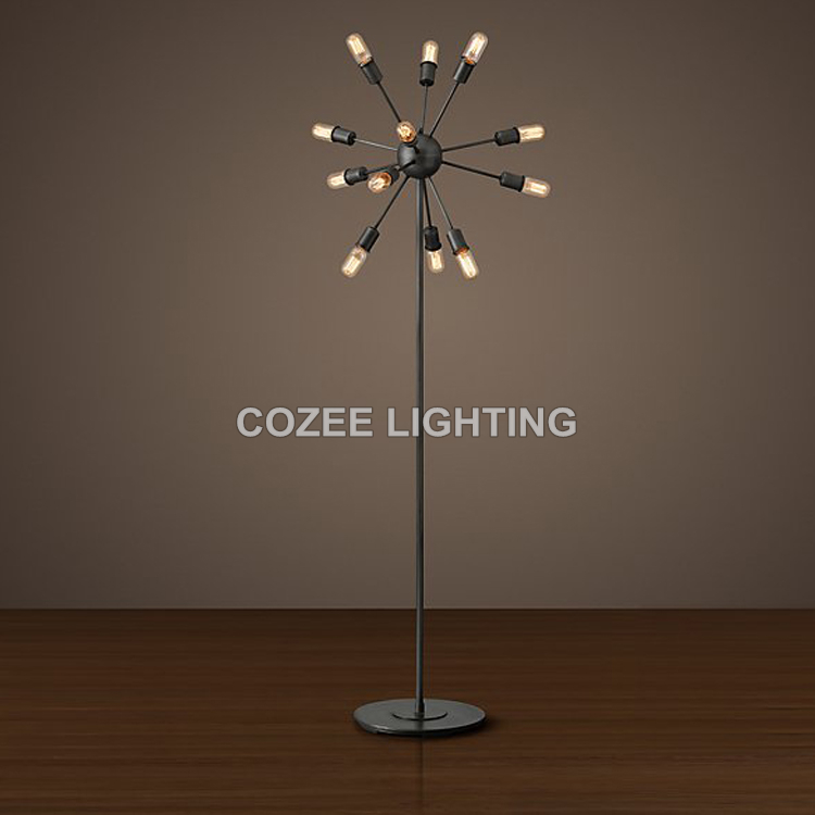 Aliexpress.com : Buy Vintage Spider Floor Lamp Standing Lighting ...