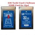 Newly arrived GM Tech2 Card With 6 Software 32MB Card for Opel /GM /SAAB/ISUZU/Suzuki/Holden  Memory Card Car Diagnostic Tool