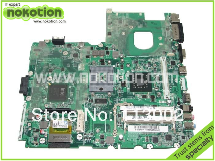 MBASR06001 Hot Sale for ace aspire 6930 laptop motherboard MB.ASR06.001 DA0ZK2MB6F1 intel GM45 Tested free shipping