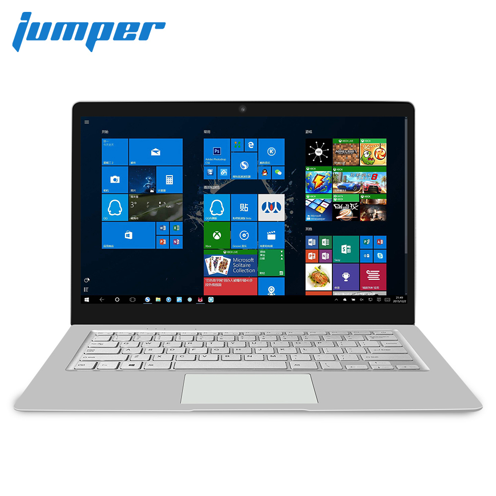 Jumper EZbook S4 Laptop 4GB/8GB RAM 256GB SSD 14 Inch Screen Notebook Intel Celeron J3160 Ultrabook Dual Band WIFI Computer