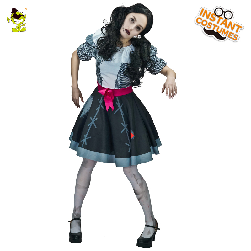 girl zombie marionette costume halloween costume horror halloween ghost for party cosplay fancy dress outfits on aliexpresscom alibaba group