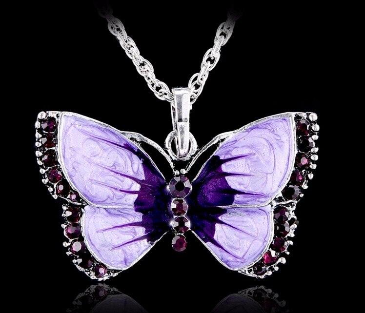 Boho Jewelry Butterfly Pendant