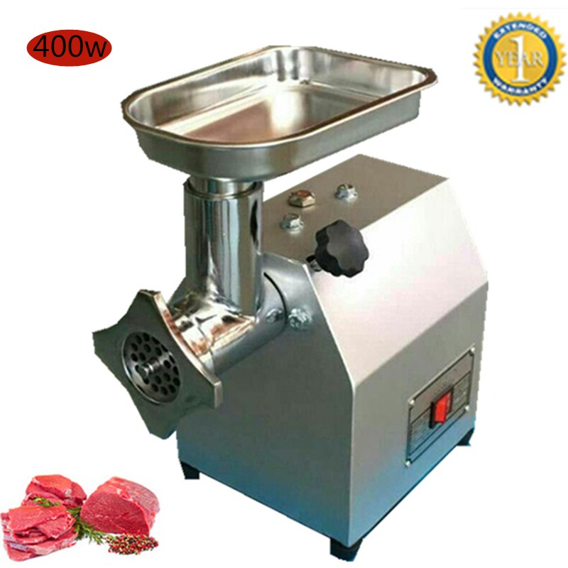 Commercial Stainless Steel Electric Meat Grinder Multi Function Crusher Meat Machine Sausage Filling Enema Machine