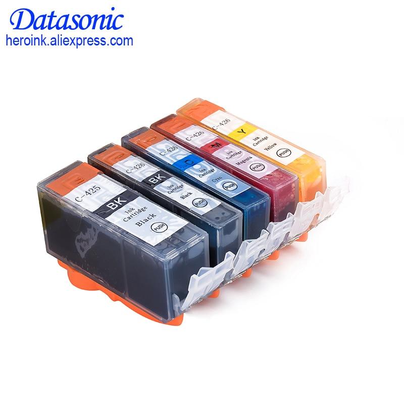 15PCS For Canon 425 426 PGI-425 CLI-426 Ink Cartridge Compatible For Canon PIXMA IP4840 IP4940 IX6540 MG5140 5240 5340 Printer