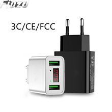 LED Display USB Charger for Oneplus 7pro 7 pro travel usb charger ForXiaomi mi 9t 9 se lite a3 Redmi k20 note
