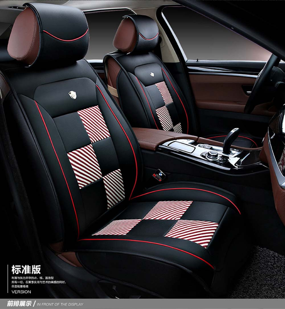 luxury leather universal car seat cover sport car seat covers whole surrounded car seat cushion. Black Bedroom Furniture Sets. Home Design Ideas