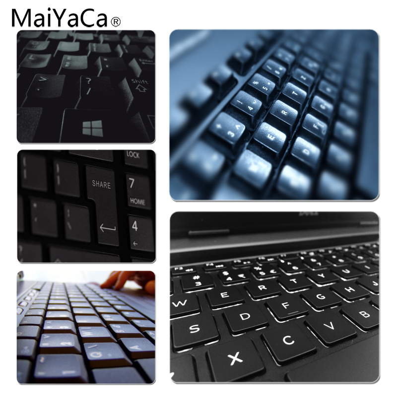 MaiYaCa High Quality Keyboard Unique Desktop Pad Game Mousepad Size for 18x22cm 25x29cm Small Mousepad