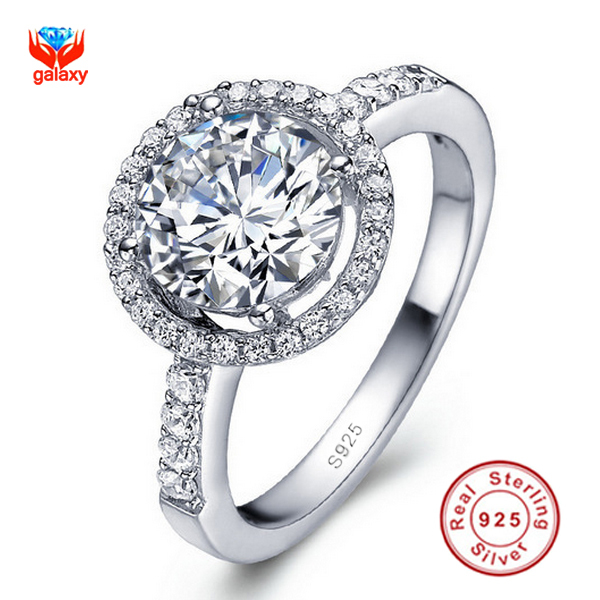 silver diamond wedding rings - Silver Diamond Wedding Rings