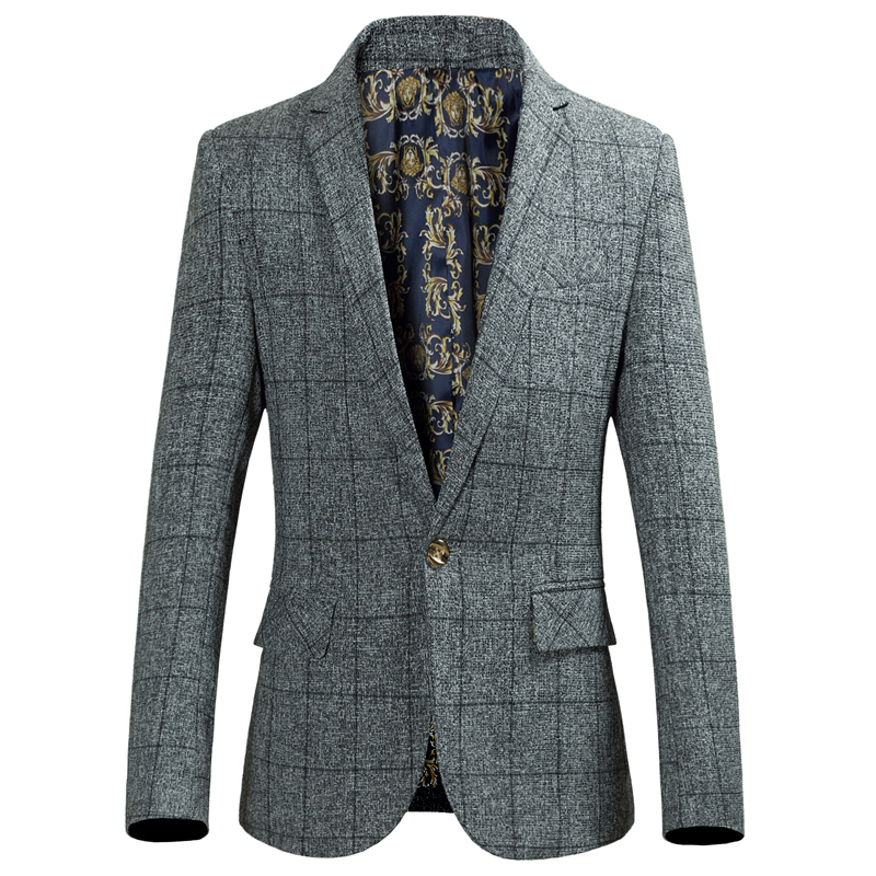 Casual Suit For Men Autumn Spring Suit Fashion Suits High Quality No Ironing New Arrival Male Blazers Coat Brand Gent Life