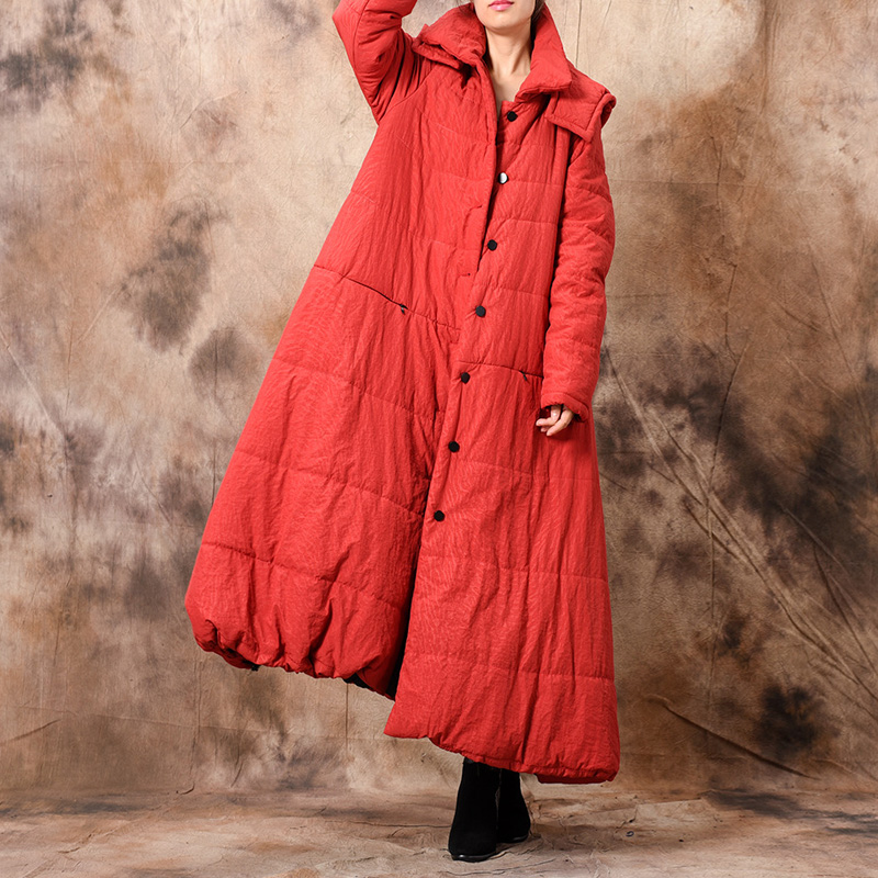 Johnature Winter   Parkas   Hooded Solid Color Coats Vintage Button Plus Size Women Cloths 2018 Winter New Warm Casual Women   Parkas