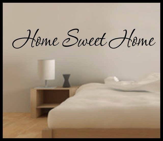 Home Sweet Home Wall Art online shop youkayou family wall art vinyl sticker quote home