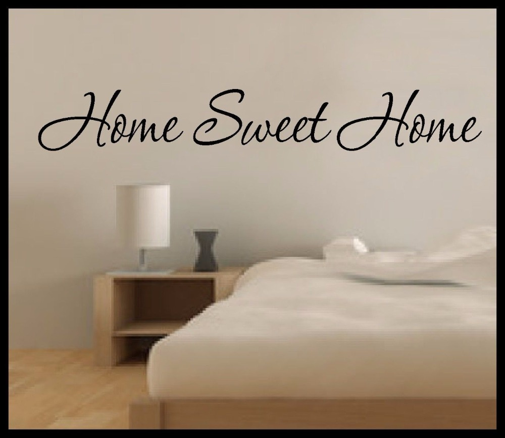Home Sweet Home Wall Art compare prices on sweet home quotes- online shopping/buy low price