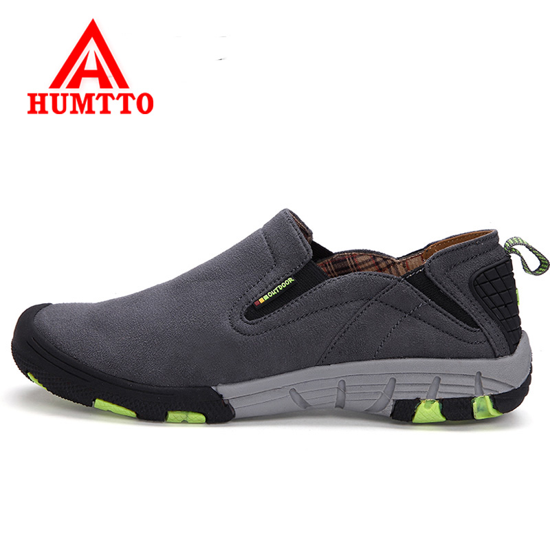 waterproof new breathable rubber sole outdoor hiking shoes