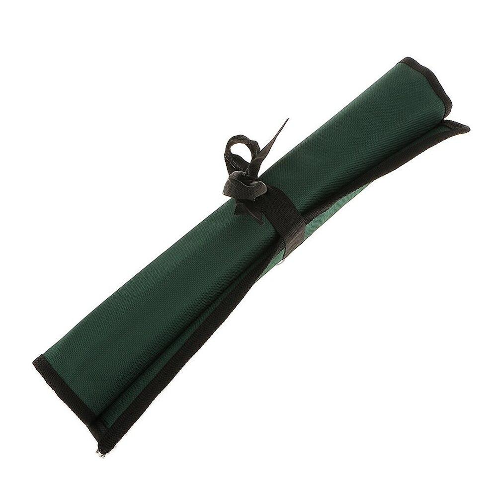 3pcs Roll Up Tools Storage Bag Spanner Wrench Organizer Pouch 14-Pocket & 10-Pocket & 8-Pocket