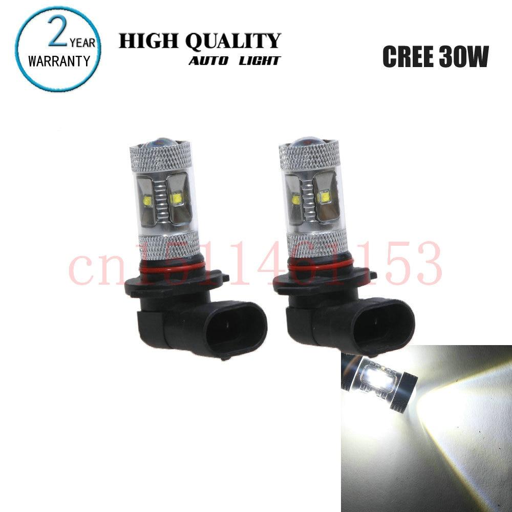 Free Shipping 2Pcs/Lot car-styling Car Led Lamp HB4 Fog lamps For Toyota LAND CRUISER 200 J2